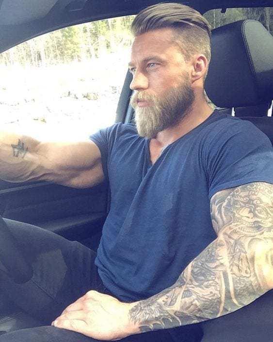 best beard shape for long face
