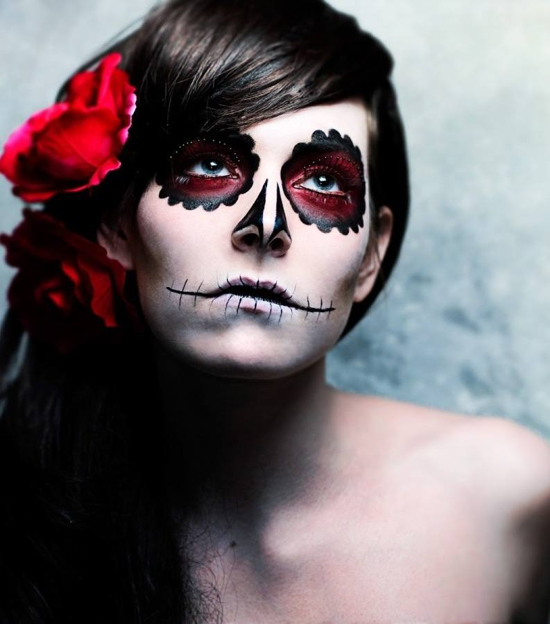black best makeup for face painting