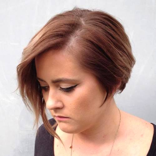 best short hair for round faces