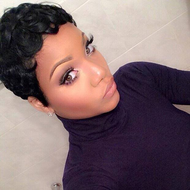 short hairstyles for black woman in south africa