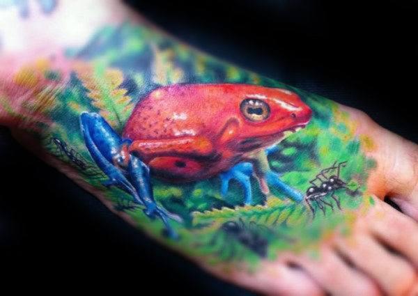 atomic frog tattoo destin