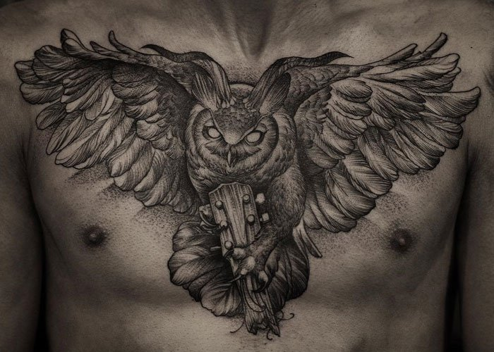 owl tattoos with meaning