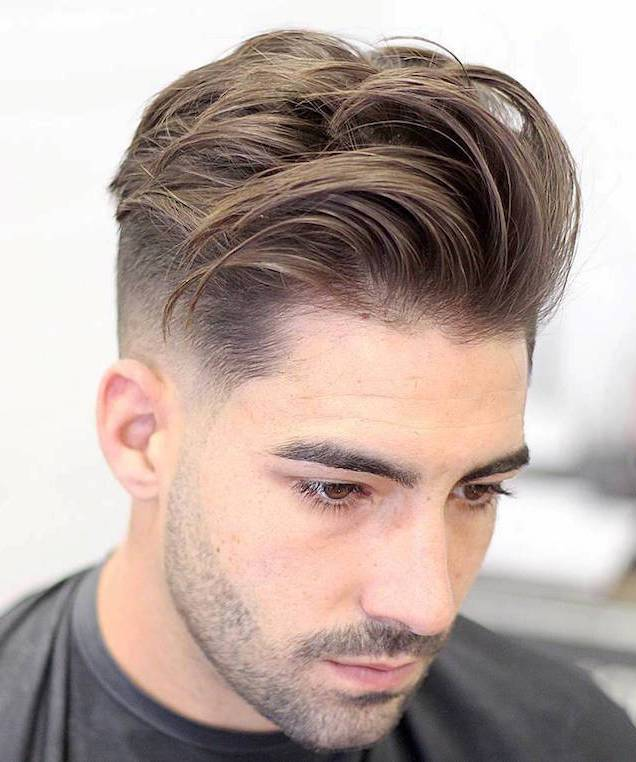 medium hairstyles for.men with thick hair