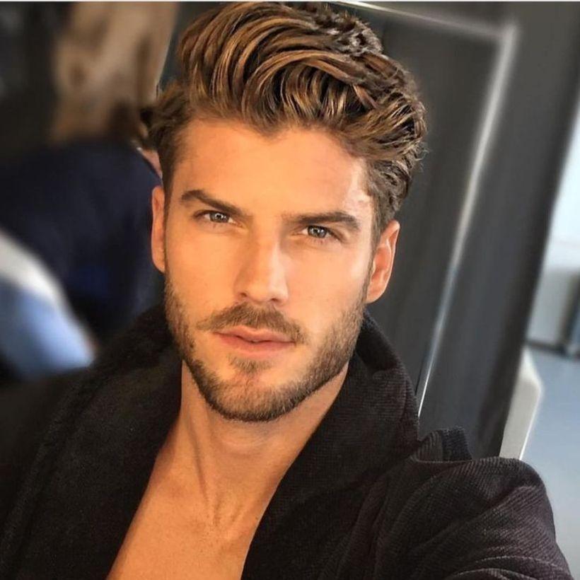 low beard styles for elegant male models
