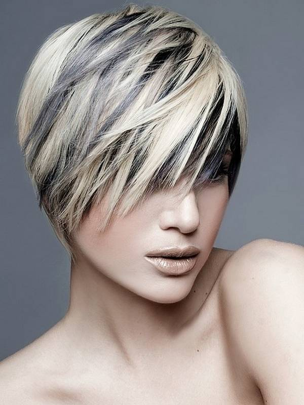 short layered haircuts for girls on one side ideas
