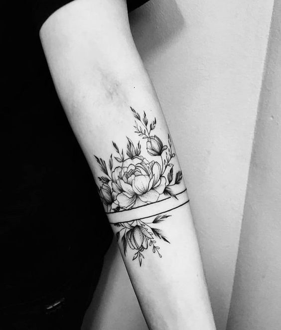unique forearm tattoos for females