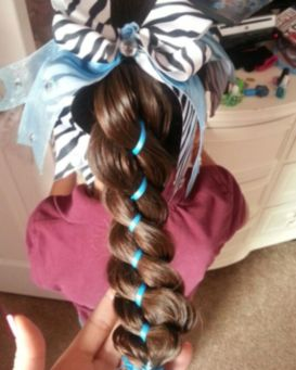 crazy girl hairstyles for school long ideas