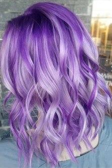 blue hair color highlights