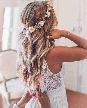 cute braid ideas for long hair for bride