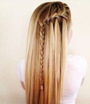 best hairstyle for school going girl long hair
