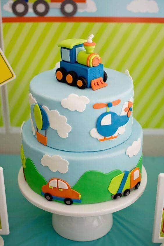 Beautiful Baby Shower Cakes