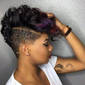 girl short blonde hair for  black women 2021