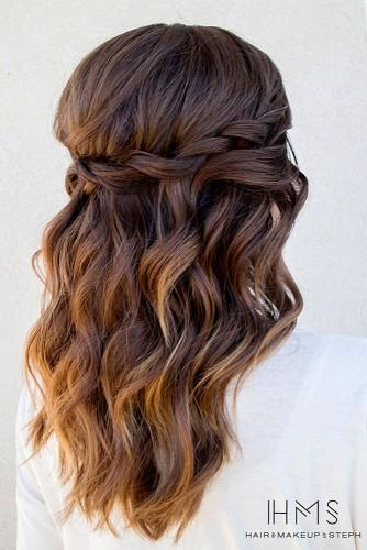 bride cute ponytail hairstyles for long hair
