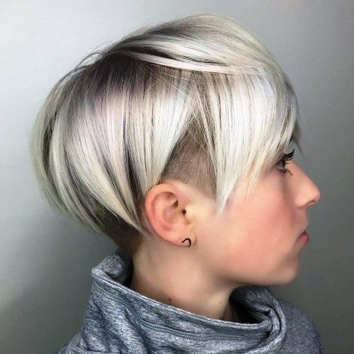 short layers for round face women