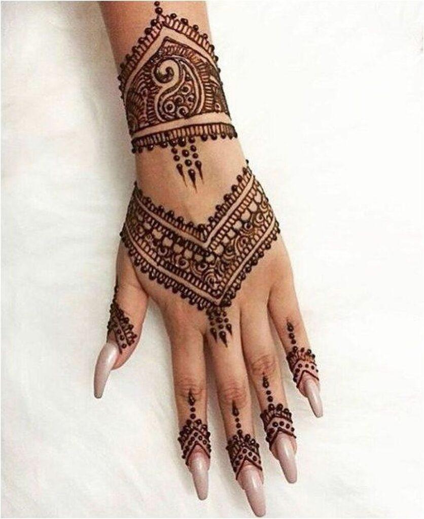 beautiful symbols  tattoo mehndi for hand design
