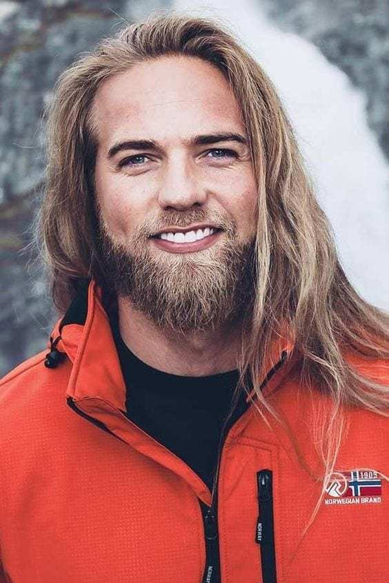 While long beard styles
