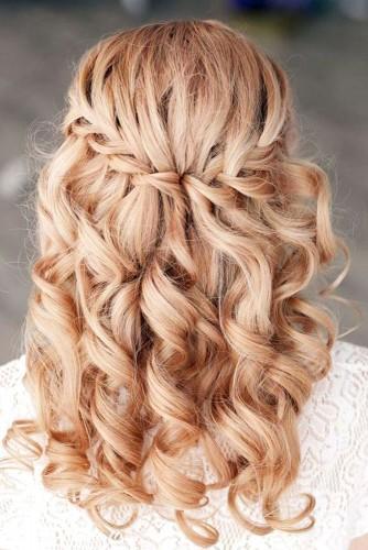 bride hair ideas long hair
