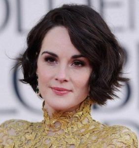 short short hair for round faces