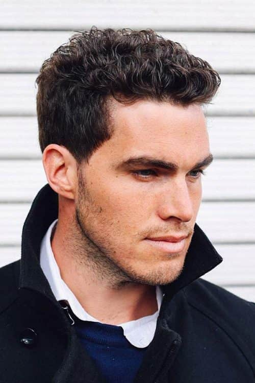 35 Diferent Trend Short Curly Hairstyles For Men