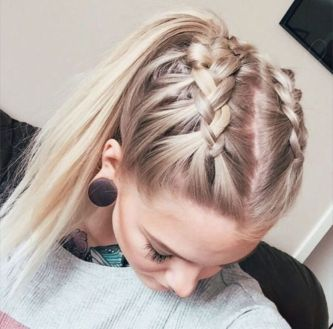 school hairstyle girl simple ideas with long hair