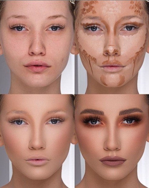 best makeup for contour