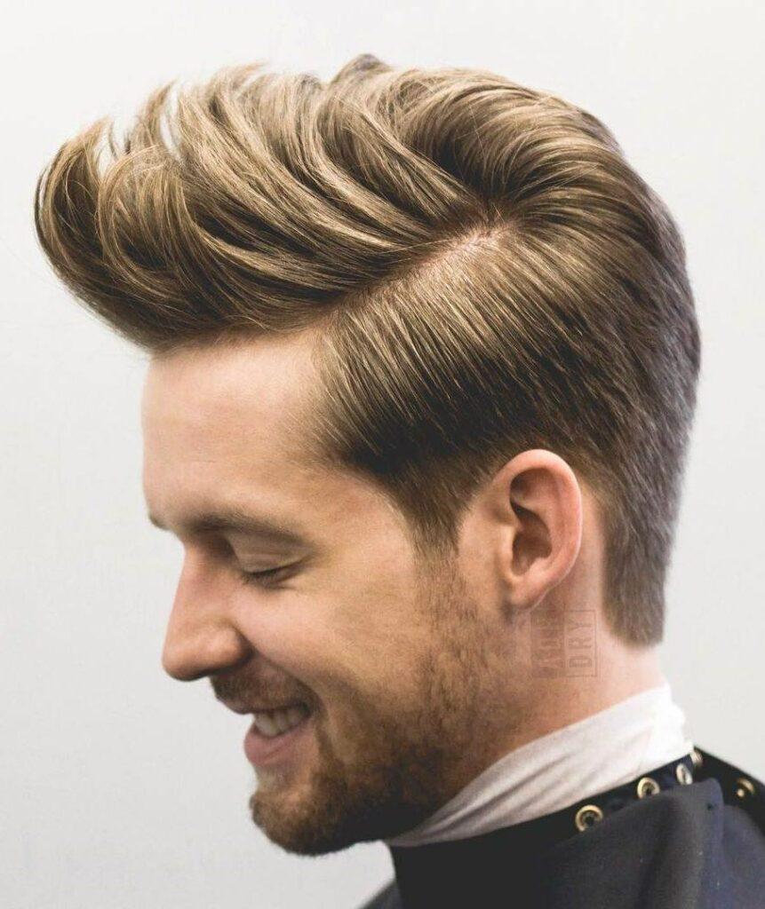 medium size hair style for man
