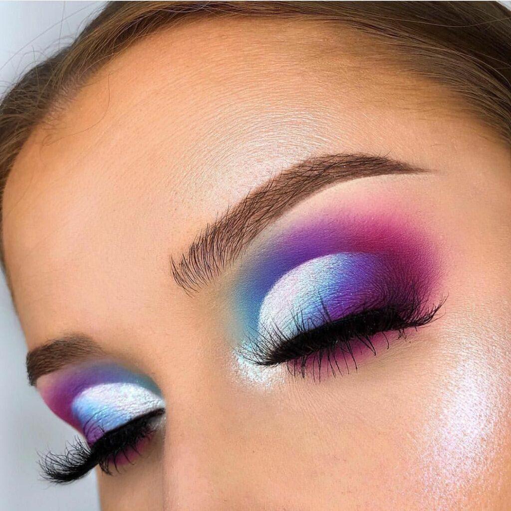 38 Cute Colorful Eye Makeup