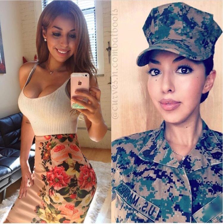 Beautiful Army Women