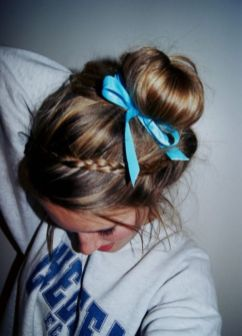 cool hair style girl for school images