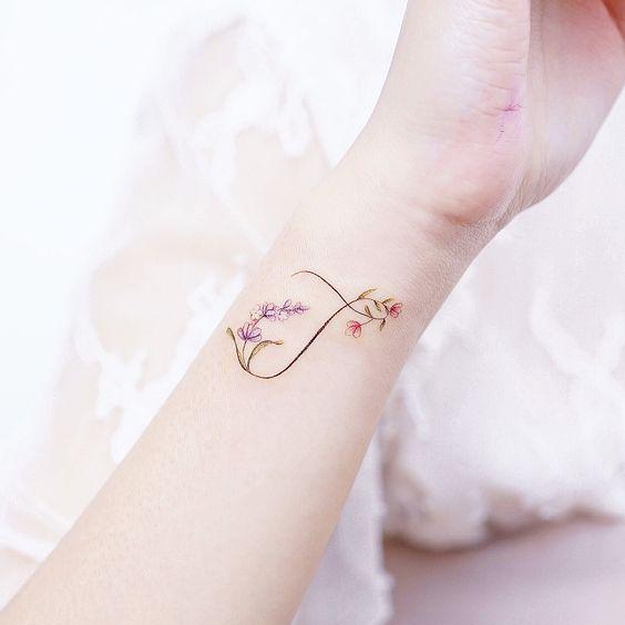 side wrist tattoo designs for ladies