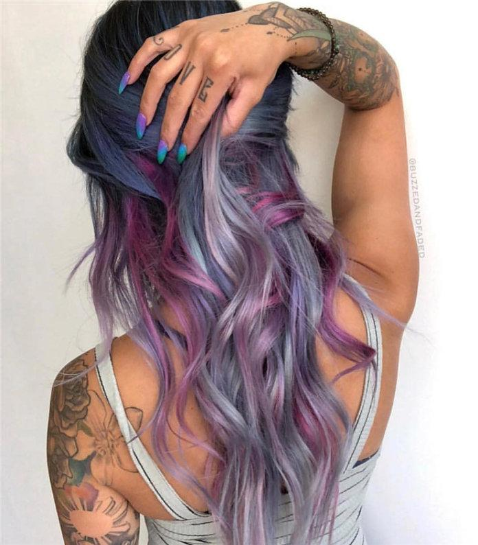 temporary new hair color for females