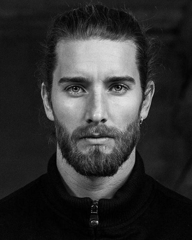 hair style with beard short style