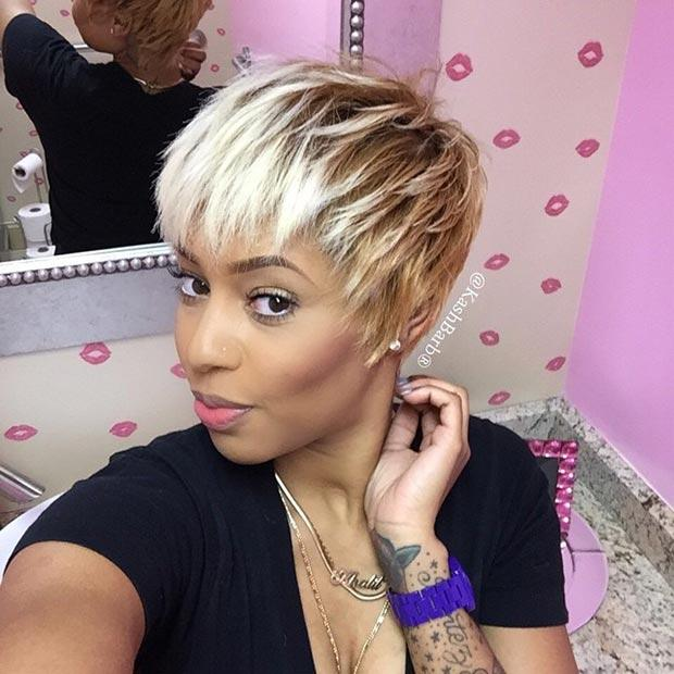 new short haircuts for ladies black women