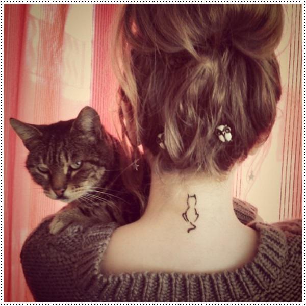 most popular female tattoos on back line