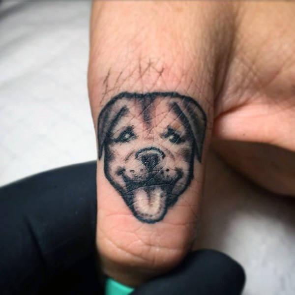 old school english bulldog tattoo