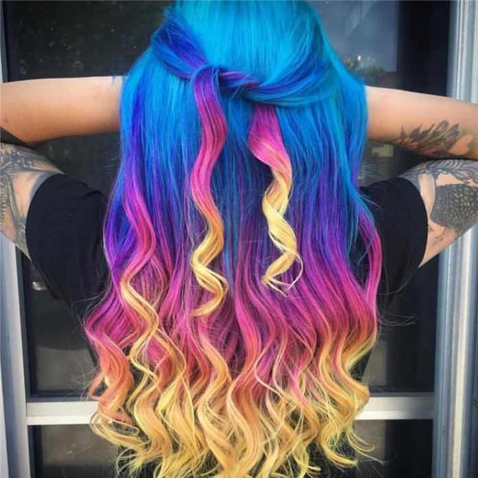colors to dye your hair