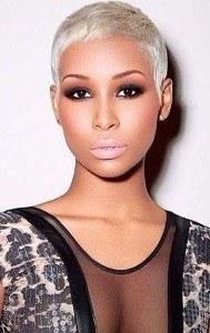 short blonde hairstyles for fine hair black women