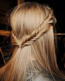 several simple yet still very chic hairstyles