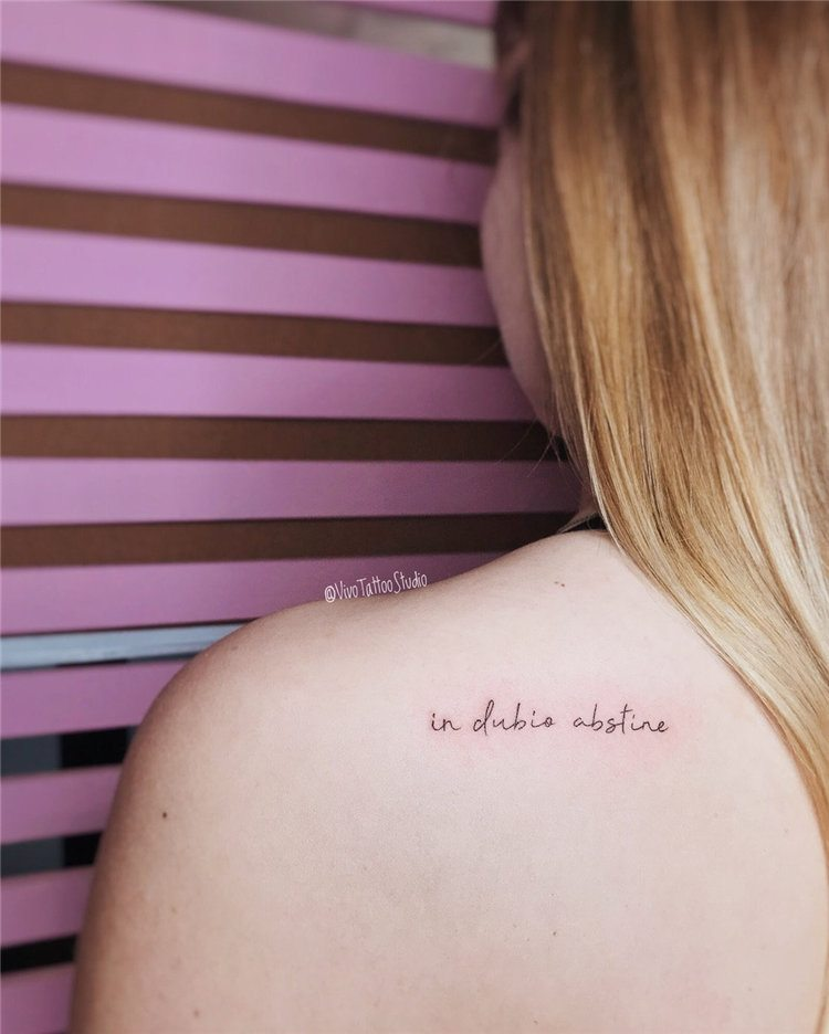 cute small tattoo ideas for girls on back