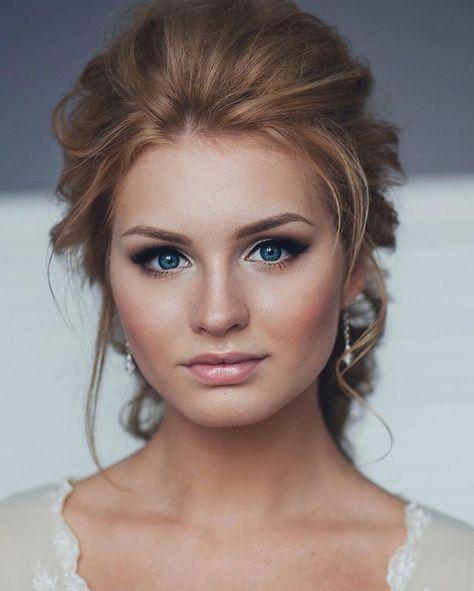 simple wedding makeup for bride