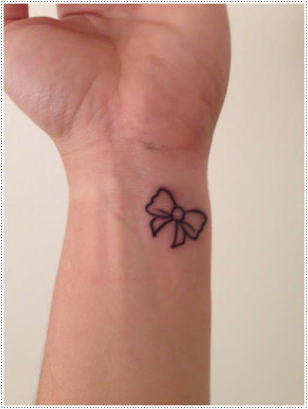 black tattoo ideas small for women wrist