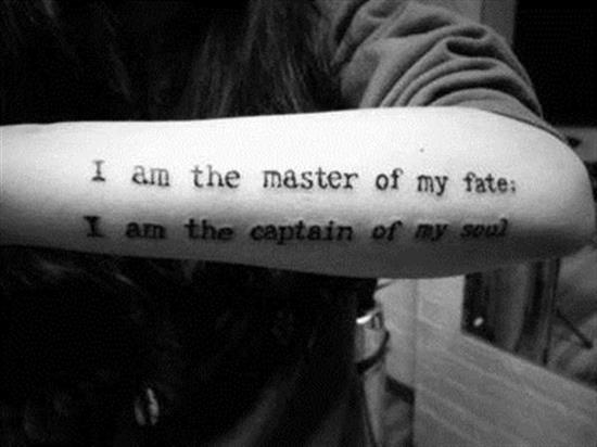 quote tattoos on back