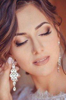 natural wedding day makeup