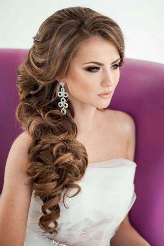 pretty wedding hairstyles