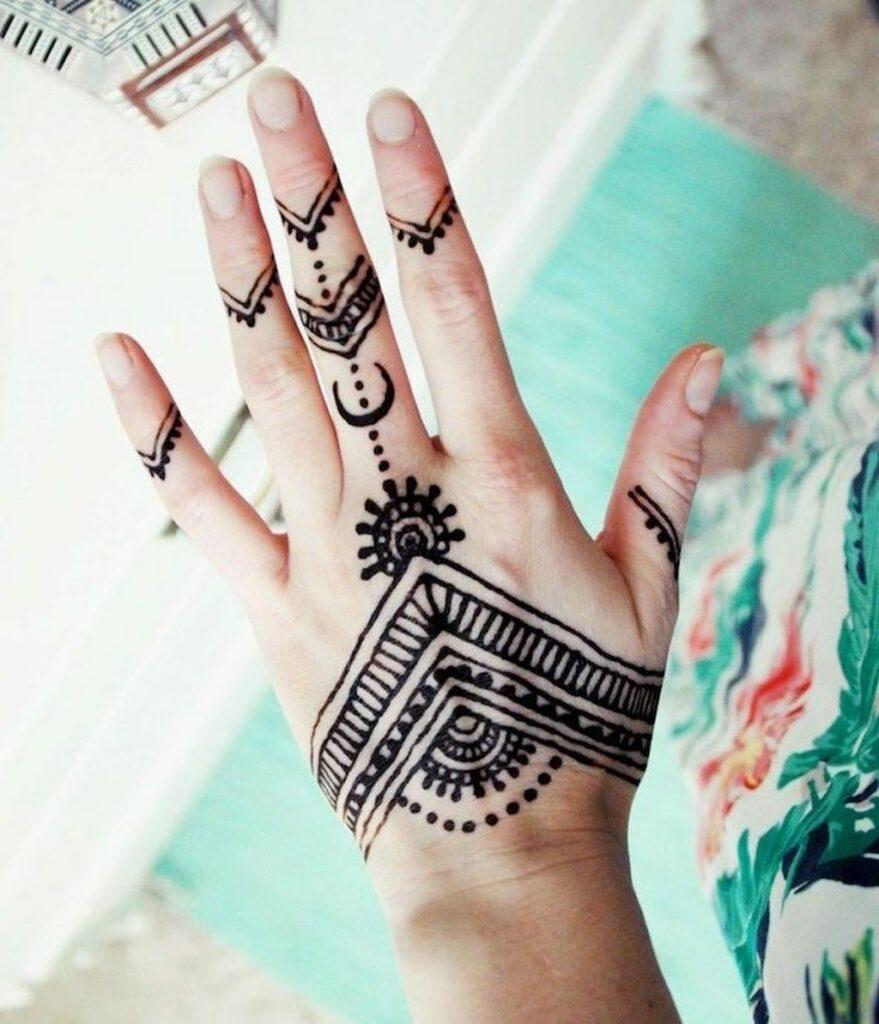 new latest tattoo mehndi design