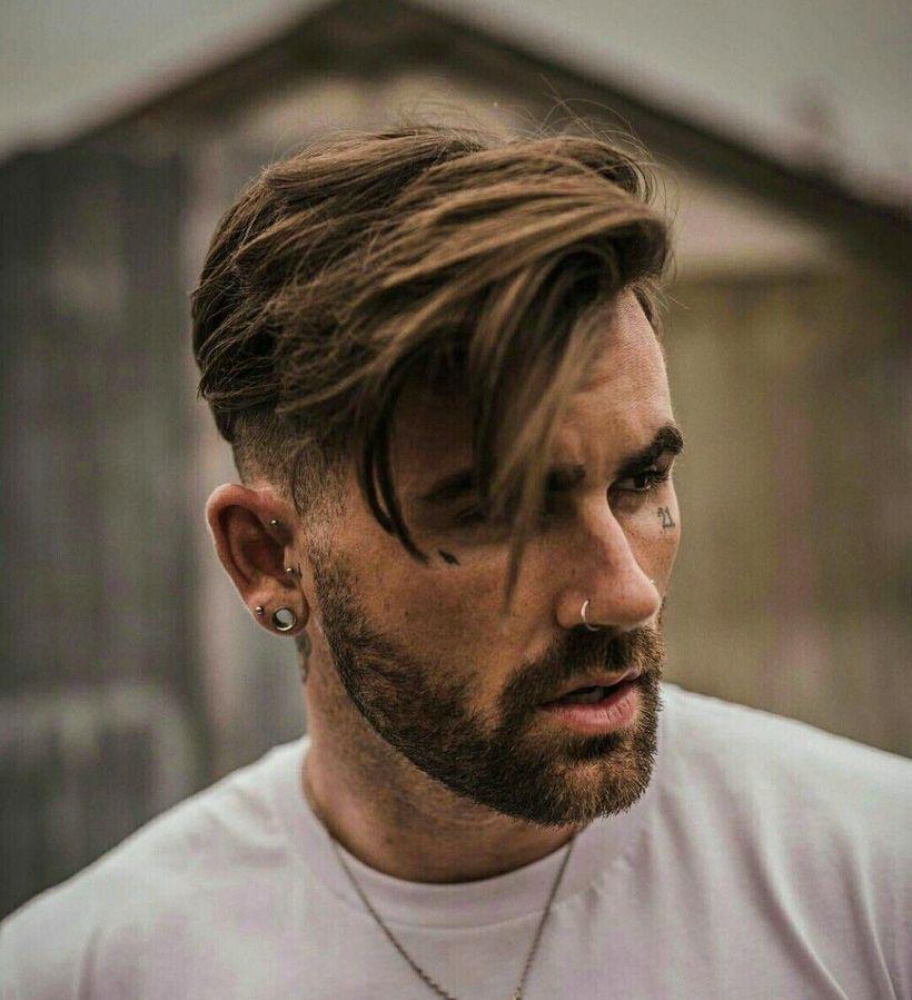 mens beard fade styles