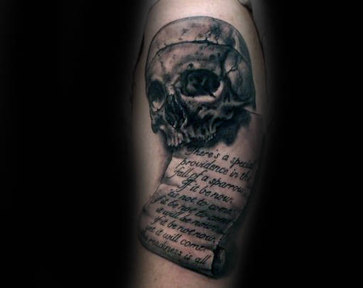 scroll tattoo images