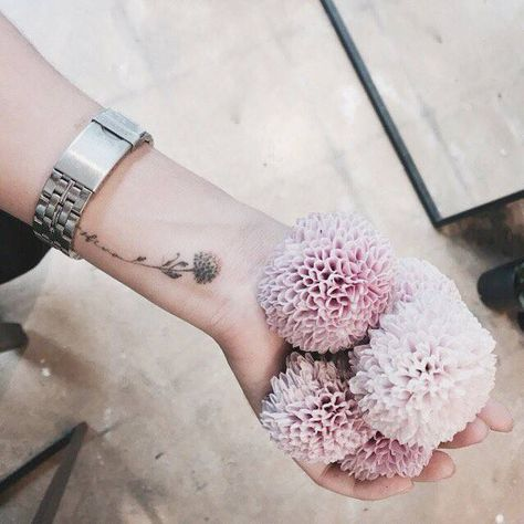 flower pictures of small tattoos for ladies on hand
