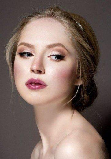 bridal makeup looks natural