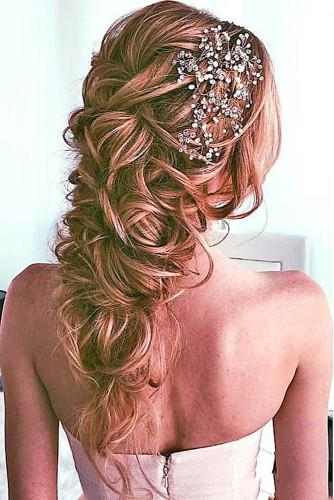 wedding hairstyles for fine hair medium length